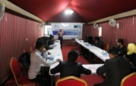 (HRITC) ينظم ورشة تدريبية للشباب عن مهارات المناظرة