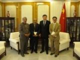 امين عام الاشتراكي يلتقي السفير الصيني بصنعاء