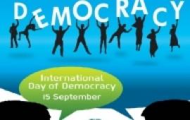 الأمانة العامة للحوار تعقد مؤتمرا صحفيا على هامش اليوم العالمي للديمقراطية غدا الاثنين بصنعاء