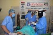 شبكة إستجابة تختتم أعمال مخيم طبي لاستئصال اللوزتين لدى الأطفال بمأرب