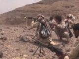 تقدم للقوات الحكومية شمالي تعز ومصرع 13 حوثياً