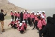 تسيير رحلة ترفيهية لأطفال مجندين إلى الأماكن التاريخية بمأرب
