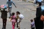 المليشيا تهجر قسرا عشرات المدنيين من مقبنة والتحالف يفجر مخزن أسلحة لها في موزع