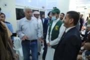 وزير الصحة يدشن تسليم وحدة متكاملة من أجهزة فحص كورونا مقدمة من مركز الملك سلمان لمأرب