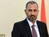الزبيدي ينفي وجود فجوة بين ادارته والحكومة والرئاسة