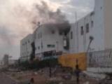 الانقلابيون يقصفون مستشفى 22 مايو في الحديدة